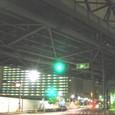 浜路橋から見上げる新幹線引込高架の橋裏