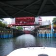 小名木川 閘門前