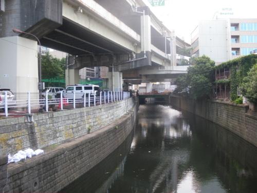 古川二の橋 首都高