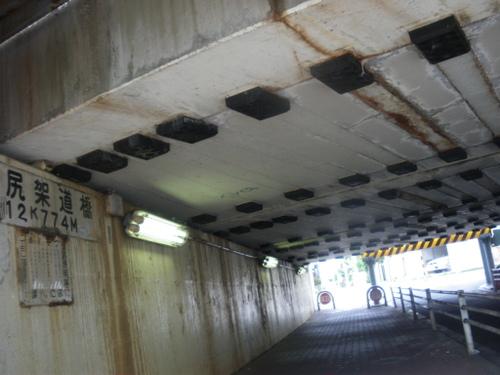 内川から東海道本線(北側の橋)