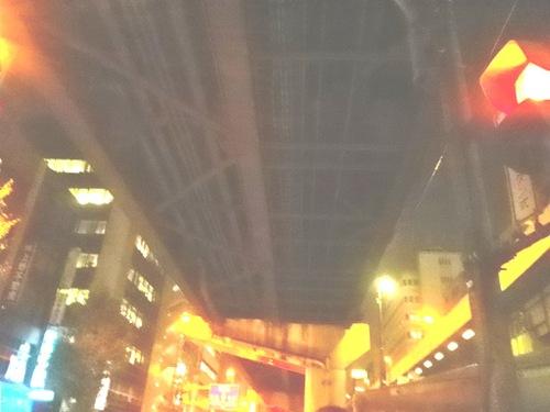 東上野から首都高上野線を