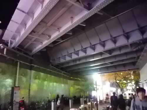 自由が丘駅から東横線